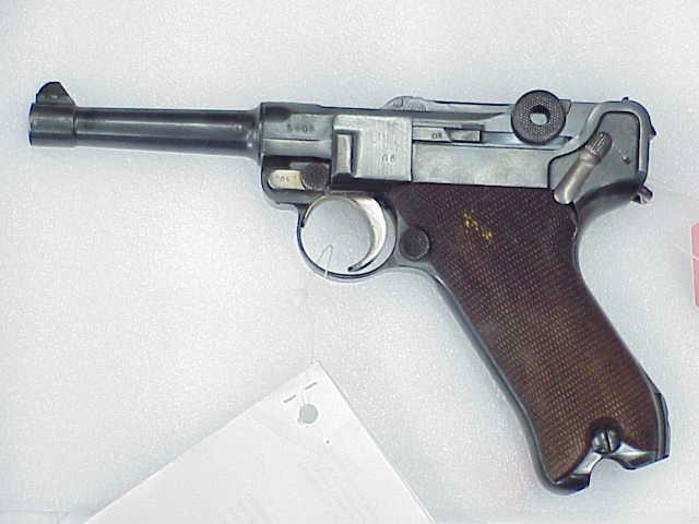 Lithuanian Luger, left side