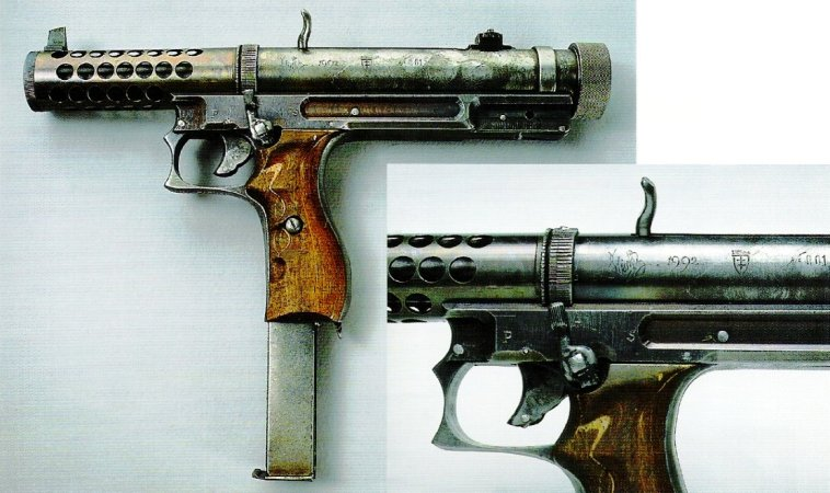 "Experimental Lithuanian ""Vladas"" M1992 machine pistol"