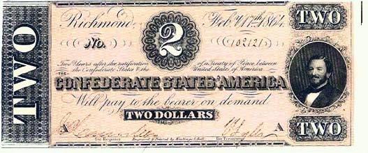 1864 Confederate $2