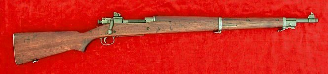 US Model 1903A3 rifle, right side