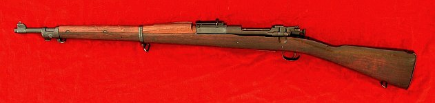 US Model 1903 rifle, left side