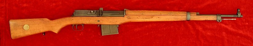 Swedish AG42b Ljungmann rifle, right side