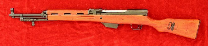 Albanian SKS rifle, left side