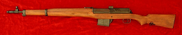 Egyptian Hakim rifle, left side
