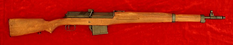 Egyptian Hakim rifle, right side