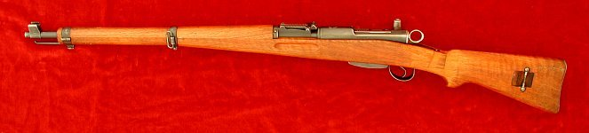 Swiss K31 rifle, left side