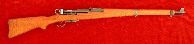 Swiss K31 rifle, right side