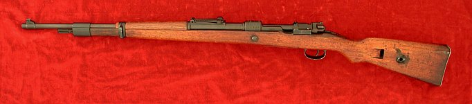 Russian-capture K98 rifle, left side