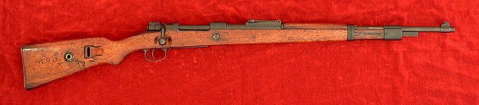 Russian-capture 98k rifle, right side