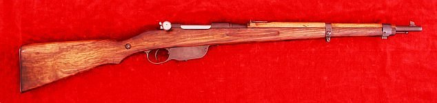 Austro-Hungarian M1895/34 Carbine, right side
