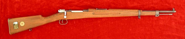 Swedish M1938 Mauser rifle, right side