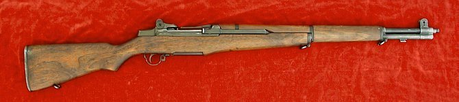 US M1 Garand rifle, right side