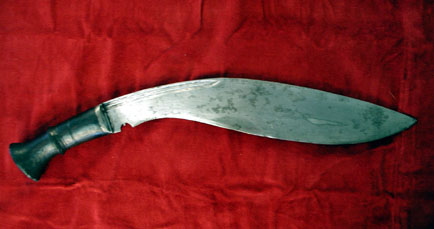 19th century kukri, right side