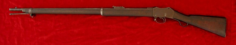 Martini Mk. II rifle, left side