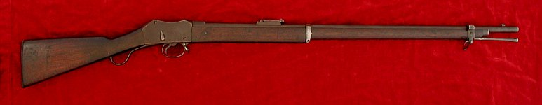 Martini Mk. II rifle, right side