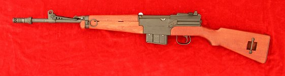 French MAS 49/56 rifle, left side
