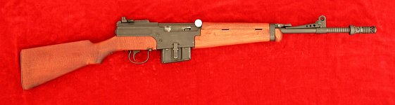 French MAS 49/56 rifle, right side