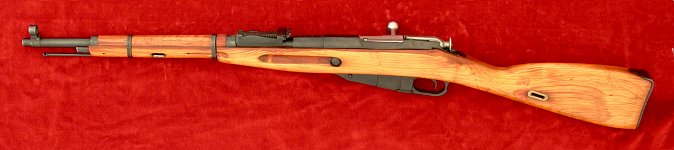 Mosin Nagant 1891/59 rifle, left side