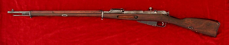 Russian Mosin Nagant 1891 rifle, left side