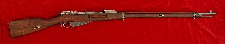 Russian Mosin Nagant 1891 rifle, right side