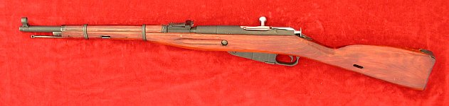 Russian Mosin Nagant 1938 carbine, left side