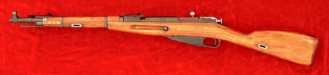 Russian Mosin Nagant 1944 carbine, left side