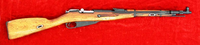 Russian Mosin Nagant 1944 carbine, right side