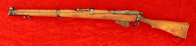 Enfield No. 1 Mk. III* rifle, left side
