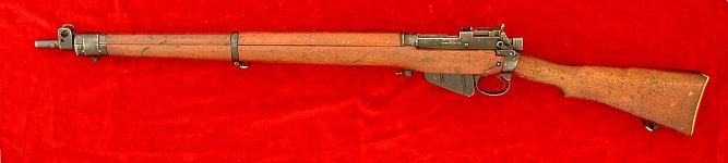 Enfield No. 4 Mk. II rifle, left side