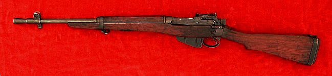 Enfield No. 5 Mk. I carbine, left side