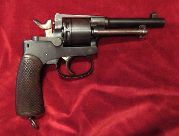 Austro-Hungarian M1898 Rast Gasser revolver, right side