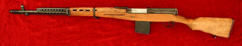 Russian SVT 1940 (Tokarev) rifle, left side