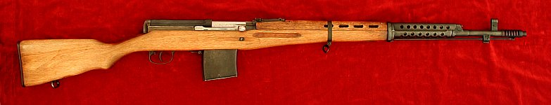 Russian SVT 1940 (Tokarev) rifle, right side