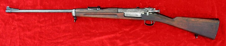 1st Pattern US Model 1892 Krag rifle, left side