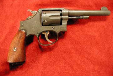 Smith & Wesson Victory Model revolver, right side