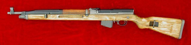 CZ vz. 52/57 rifle, left side
