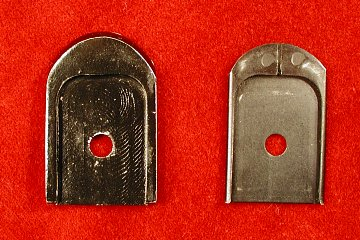 Vz 82 magazine floorplates, top view
