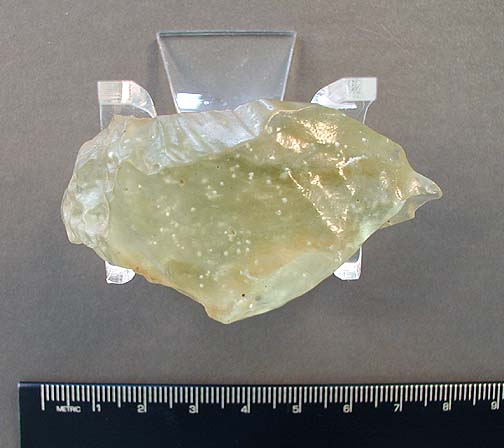 Libyan Desert Glass, a type of tektite?